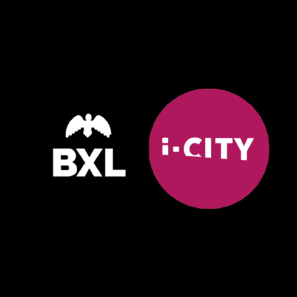 Logo van iCity Brussel